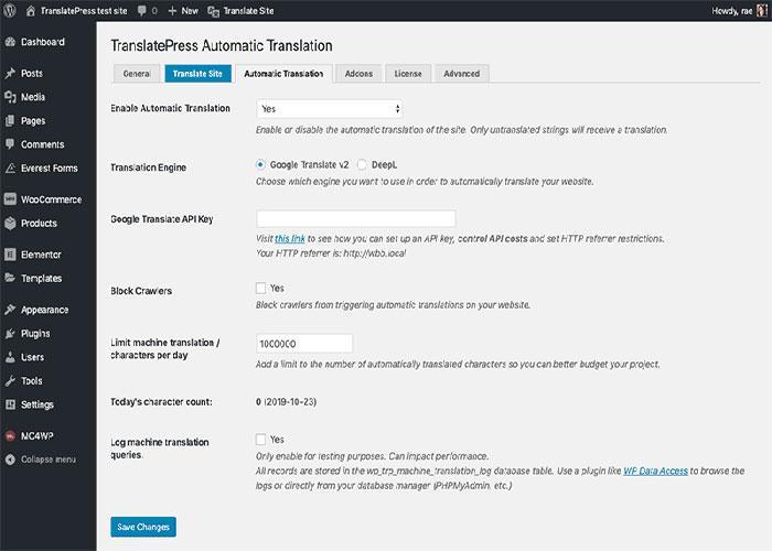 چگونگی ترجمه محتوا در TranslatePress