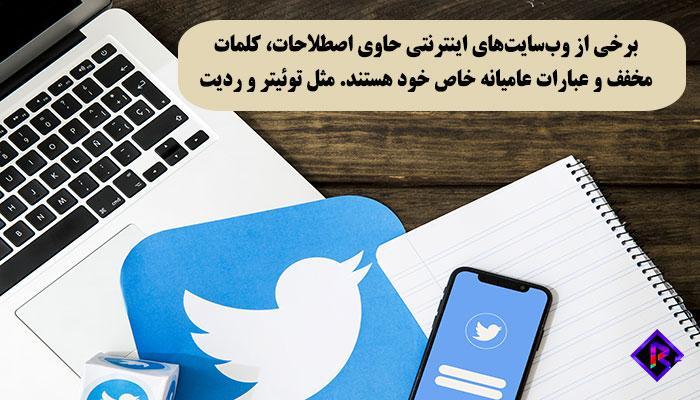 رسانه های اجتماعی و اصطلاحات اینترنتی