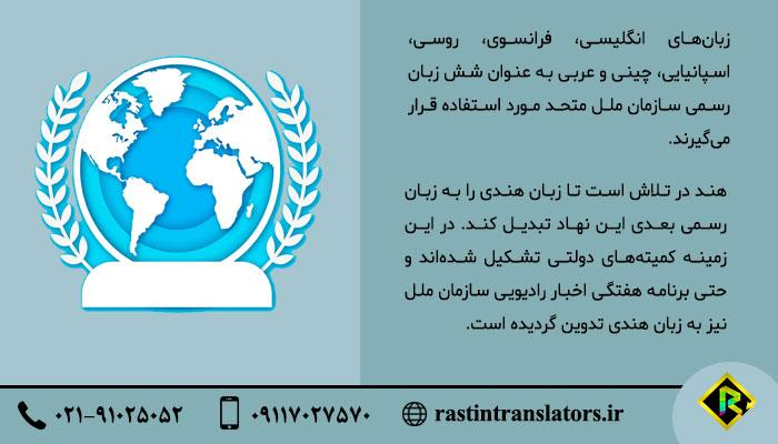 زبان سازمان ملل متحد